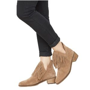 NWOT Vero Moda Laure Fringe Boots